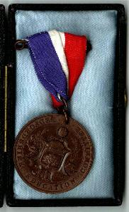Good attendance medal for Albert Cowley [E/PM4/3/2]